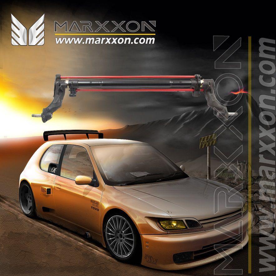 Peugeot 106 205 206 206cc 206sw 3D 4D 306 partner Citroen AX Saxo Xsara berlingo picasso rear axle