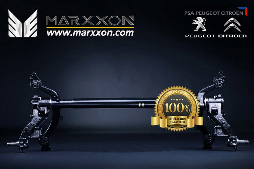 All MARXXON rear axles are manufactured to the original spec factory standard