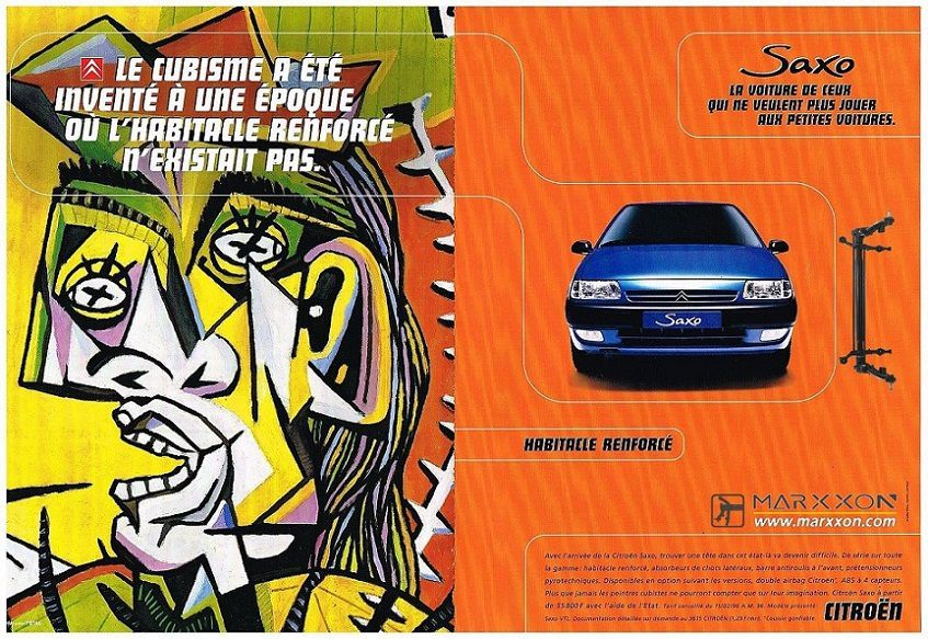 PSA Peugeot 106 Citroen AX Saxo advertising and post collections