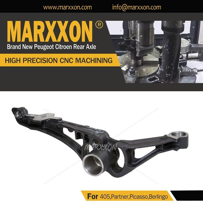 Marxxon Peugeot 405 Partner Citroen Berlingo Xsara Picasso Rear Axle Perfect machining cutting drilling grinding milling tapping with high precision
