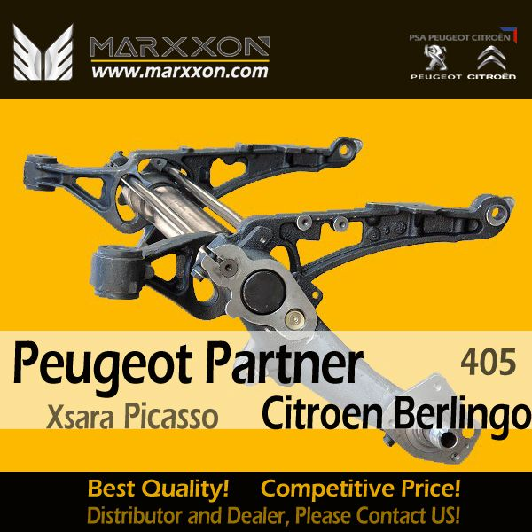 Brand New Marxxon Complete Peugeot 405 Partner Citroen Berlingo Xsara Picasso complete Rear Axle assembled with OEM Standard Ready to Mount MARXXON Brand New Complete Peugeot Citroen Rear Axle, For All French Car Model, Best Quality! Competitive Price! Welcome Distributor and Dealer Contact US for Cooperation! http://www.marxxon.com/newsinfo/498.html