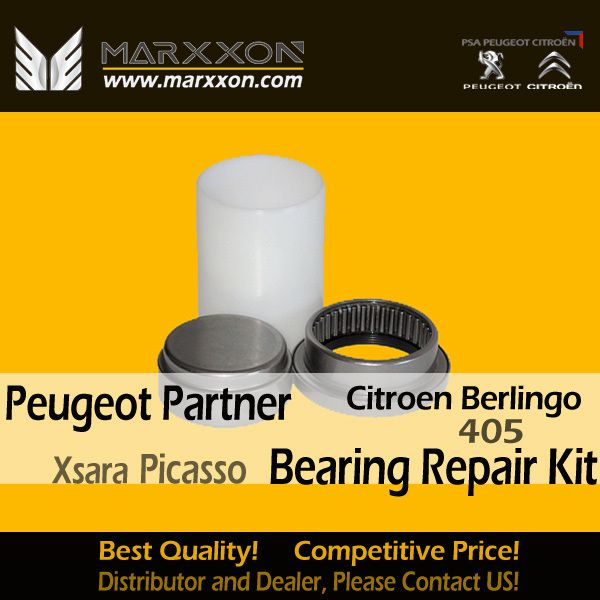 Marxxon Enhanced Axe fusée, tube shaft and roulement Bearing repair kit Peugeot 405 Partner Citroen Berlingo van Xsara Picasso,Marxxon Peugeot 405 Partner Citroen Berlingo van Xsara Picasso parts, with High Precision production.