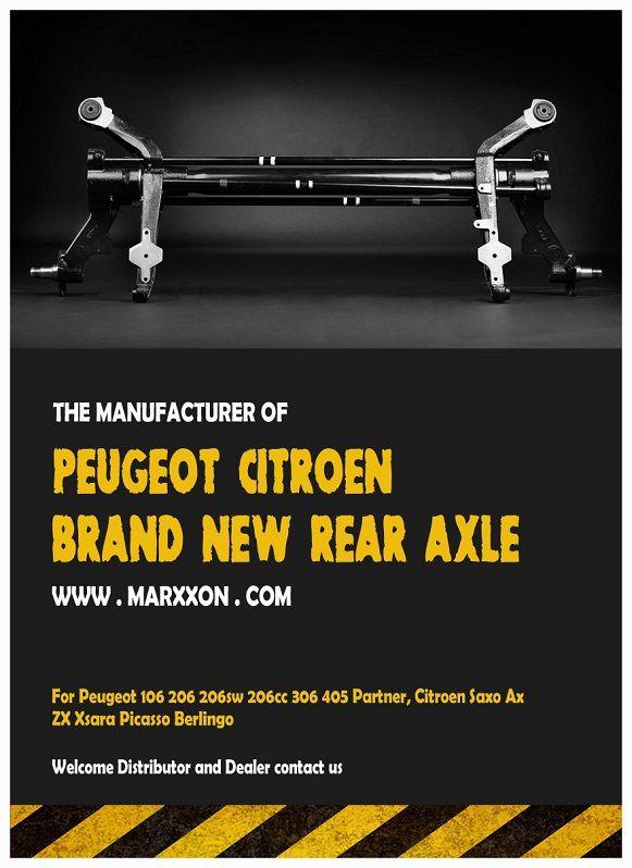 Marxxon Peugeot 106 206sw 206cc 306 Partner Citroen AX Saxo ZX xsara Picasso berlingo rear Suspension rear axle back axle