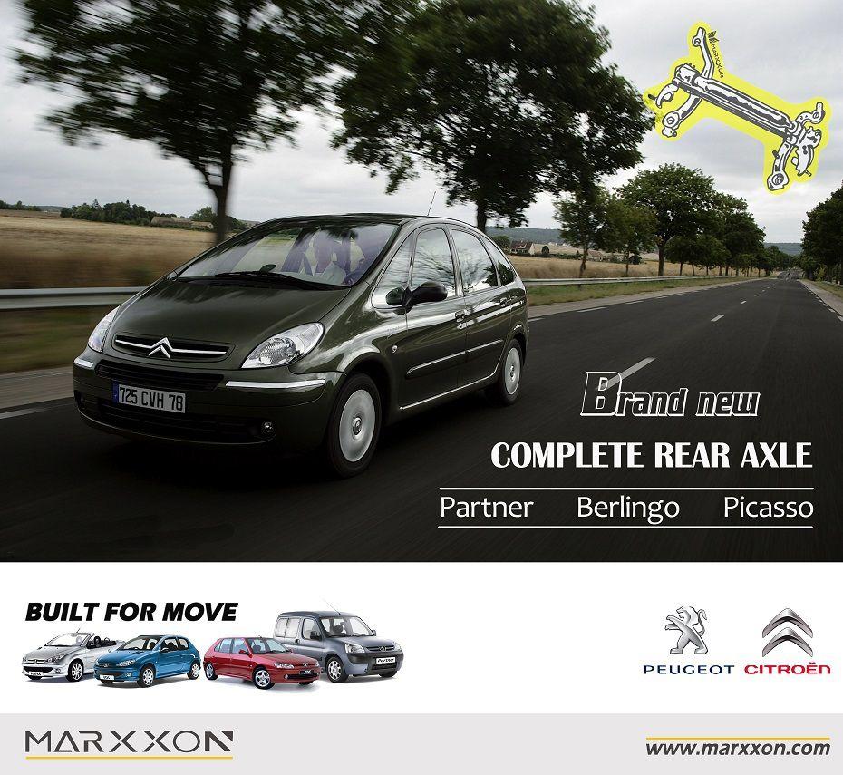 Brand New MARXXON Peugeot Ranch Partner Citroen Berlingo Xsara Picasso Rear Axle