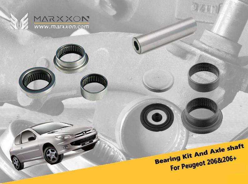 MARXXON INDUSTRY-New Improvement of Peugeot Citroen Rear Axle Bearing and Axle Shaft