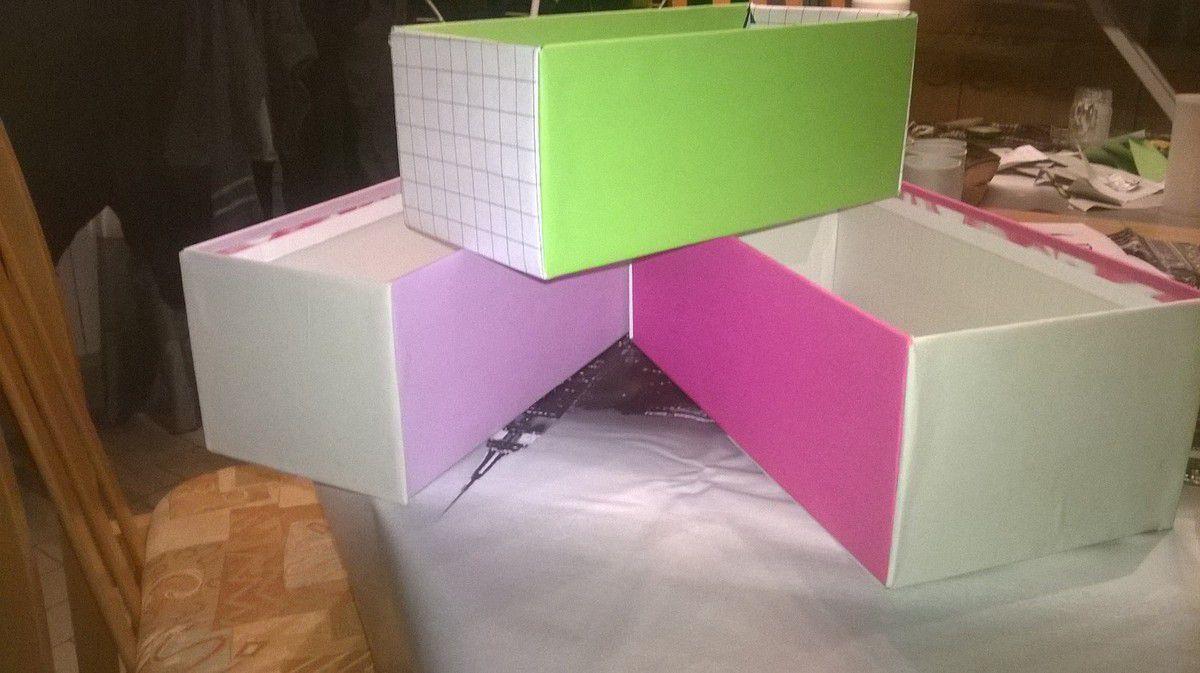 Tuto rangement Boîtes à crayons