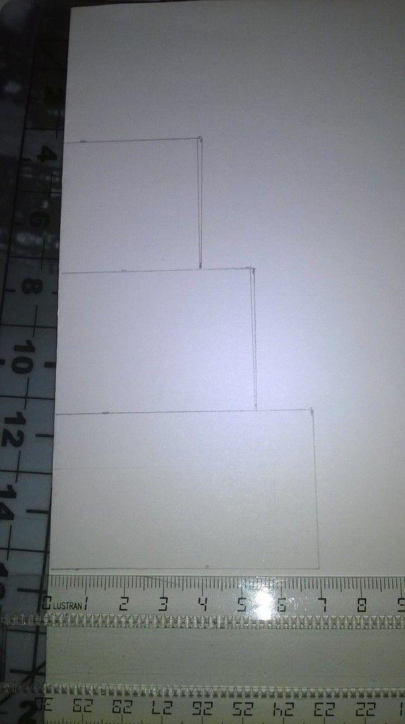 Carte 3D robe kirigami