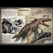 voici un mosasaure adulte de 20 mètres 51 et un plésiausaure de 18 mètres 35