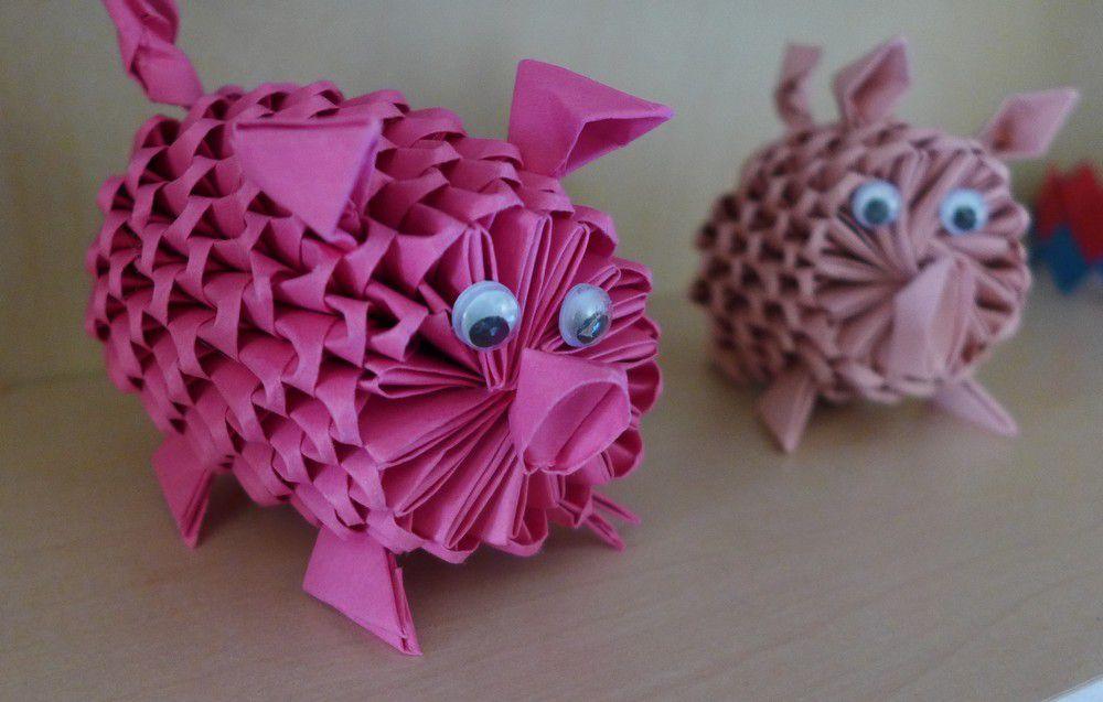 Les petits cochons roses...