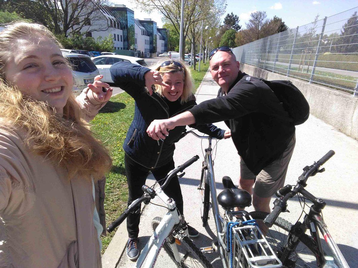 Journée en Vélo dans Vienne, on en à plein les yeux !