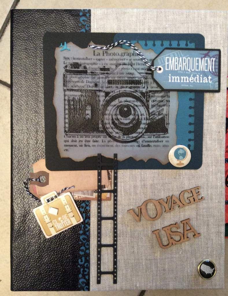 couverture gros album album scrapbooking scrapouillis 17. Black Bedroom Furniture Sets. Home Design Ideas
