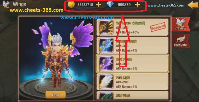 Paradise War Cheats - Unlimited Diamonds Cheat Codes