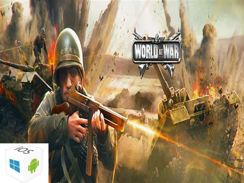 Cheat: World at War WW2 Strategy MMO Cheats : Unlimited Gold (Android & iOS)