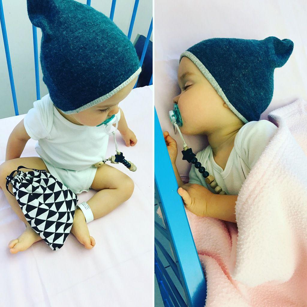 Petit macaron à l'hôpital