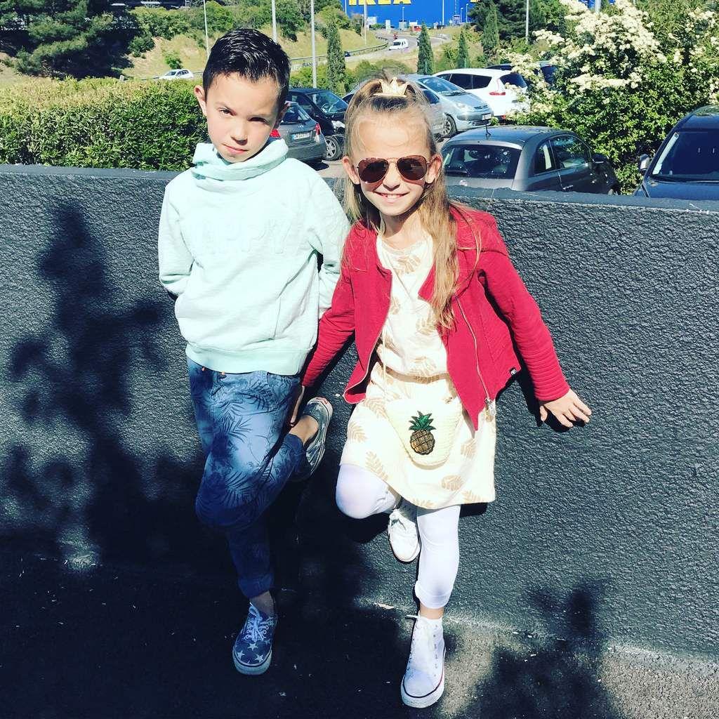 Boy : #tapeàloeil #zara #vans Girl: #letempsdescerises #tapealoeil #converse