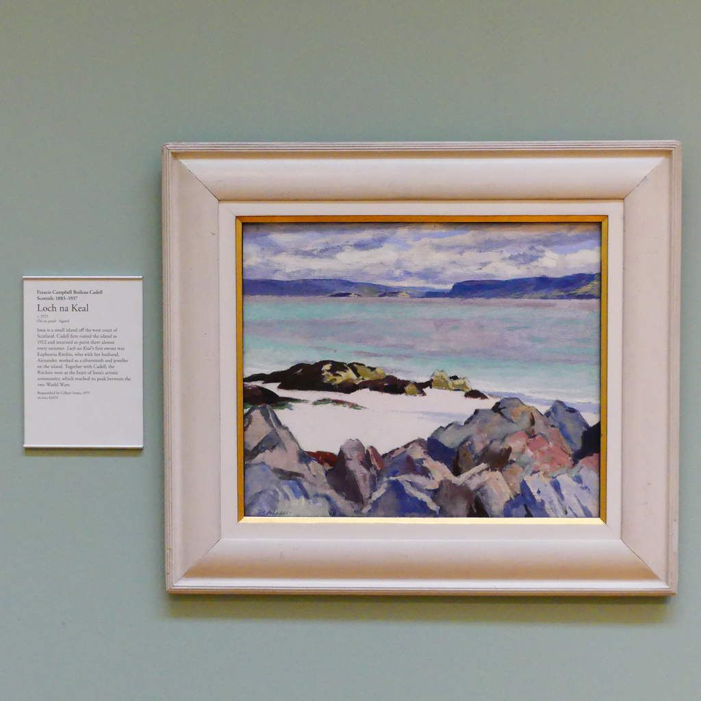 Loch na Keal,Francis Campbell Boileau Cadell (1923)
