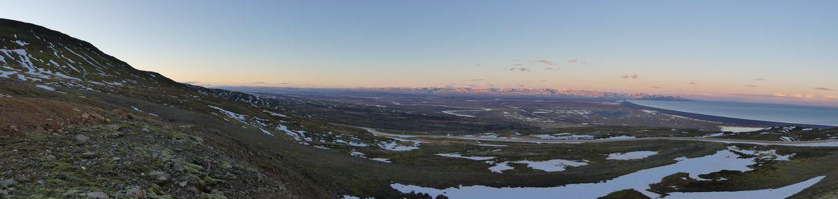 Panos depuis le haut des montagnes