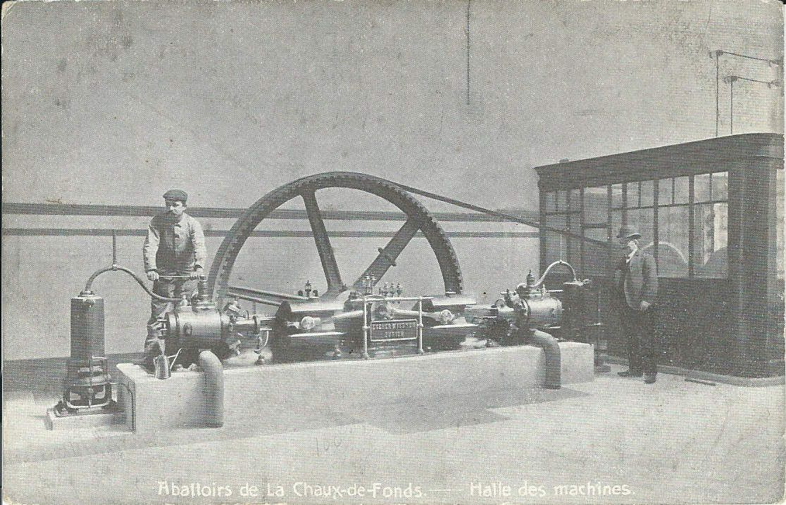 La Chaux-de-Fonds - Abattoirs - Hall des Machines
