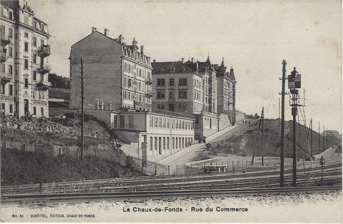55 - Schüttel, Editeur, Chaux-de-Fonds