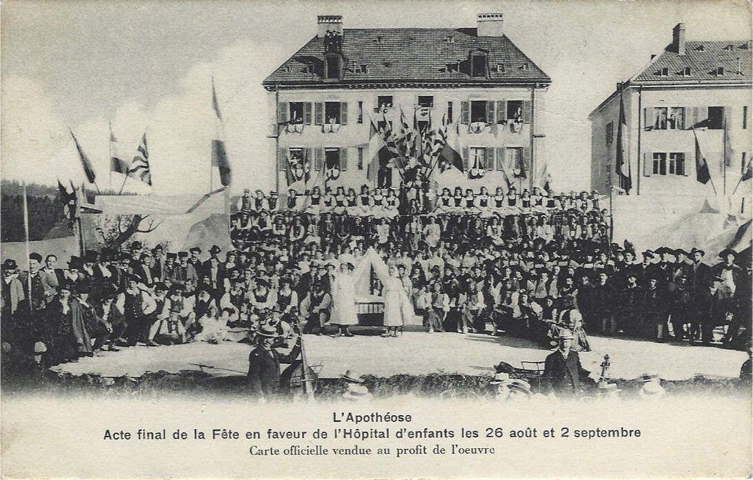 Edition Hôpital d'enfants, Cliché G. Moser - G. Dubois Imp.