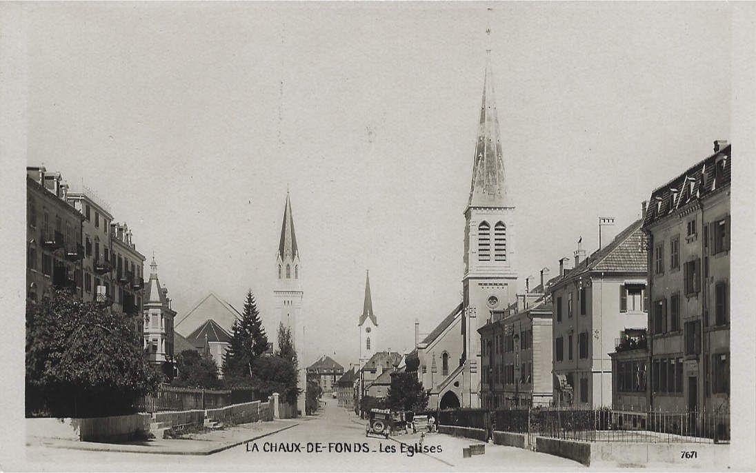 La Chaux-de-Fonds - Temple Indépendant ou Eglise Indépendante