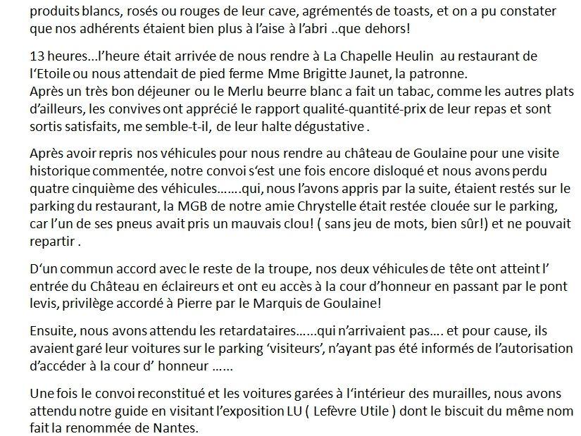 DECOUVERTE DU MARAIS DE GOULAINE AVEC L 'ABA44.