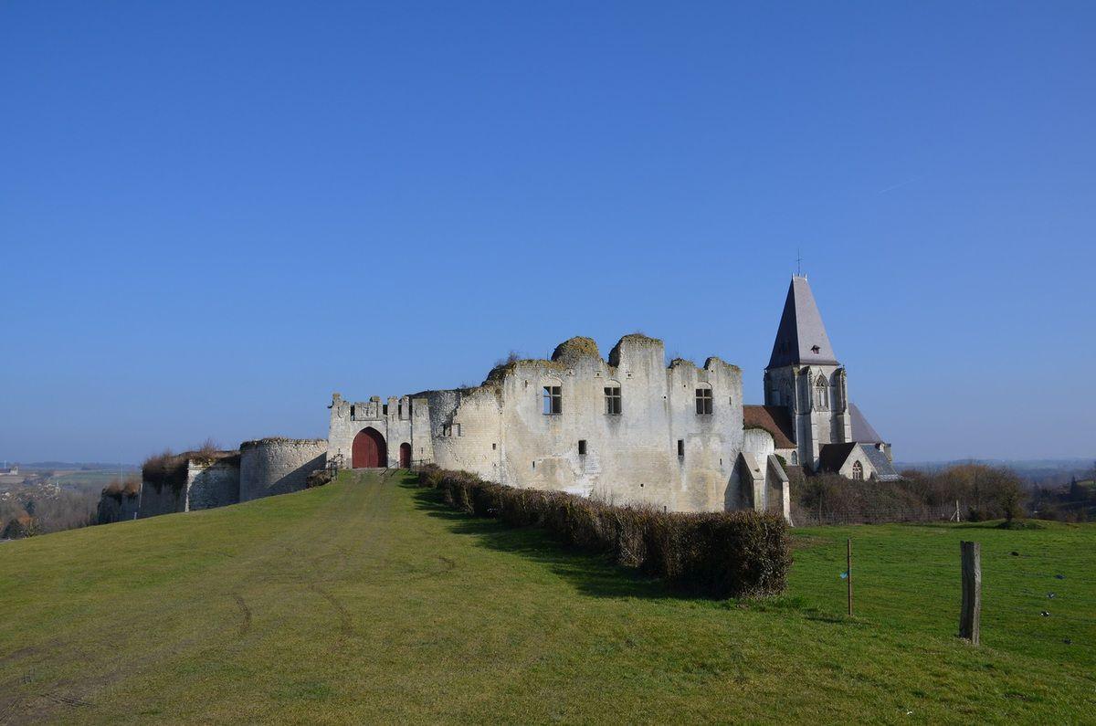 Château et Collégiale de Picquigny