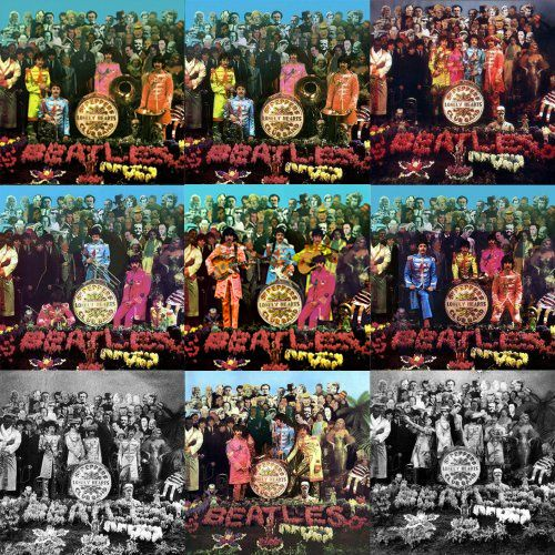 JAMES JOYCE ON THE BEATLES SGT PEPPER'S COVER