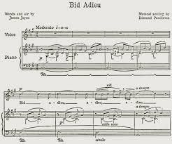 James Joyce's Only Known Composition: &quot&#x3B;Bid Adieu To Girlish Days&quot&#x3B;