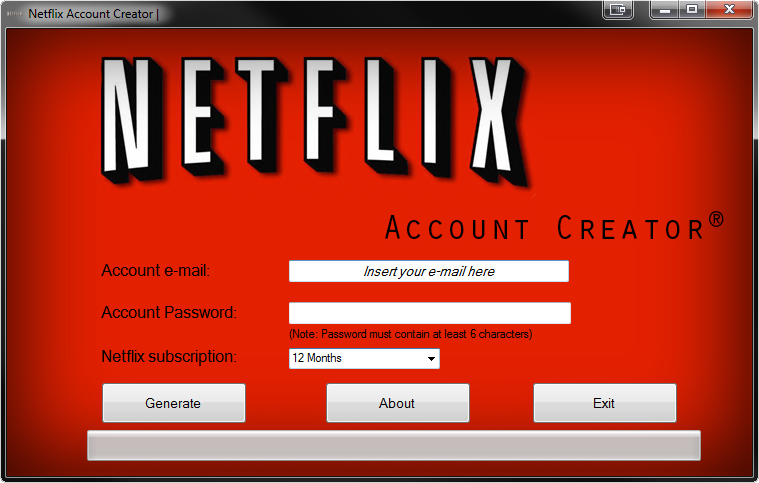 ACCOUNT FOR NETFLIX FREE