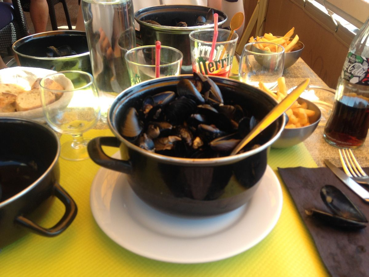 Moules/frites (L'air du temps, Toulon)