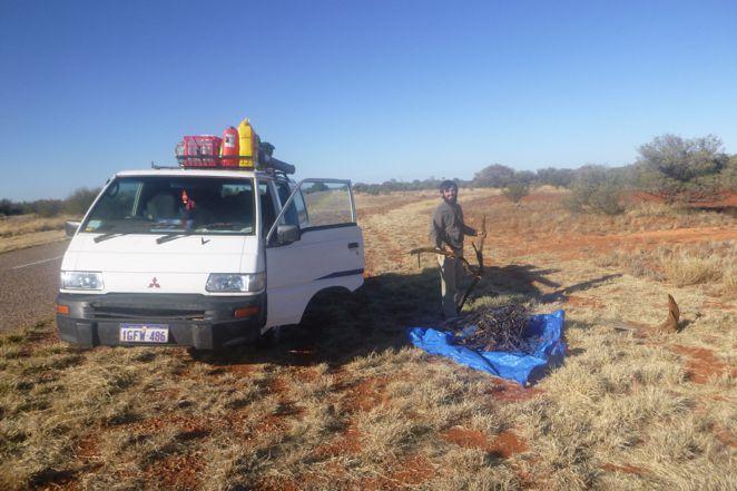 En route pour Alice Springs