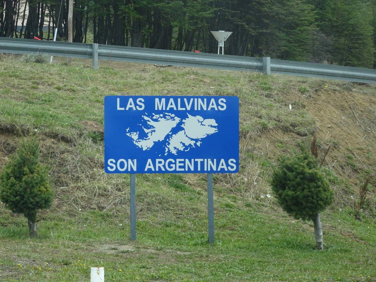 Frontière Argentine...au moins ça, c'est dit...