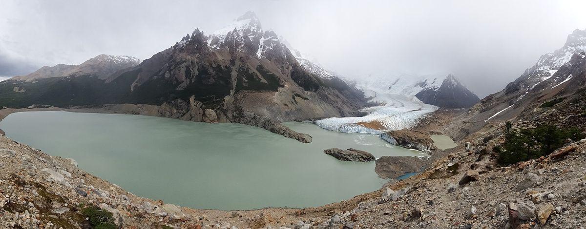 La laguna et le glacier Torre