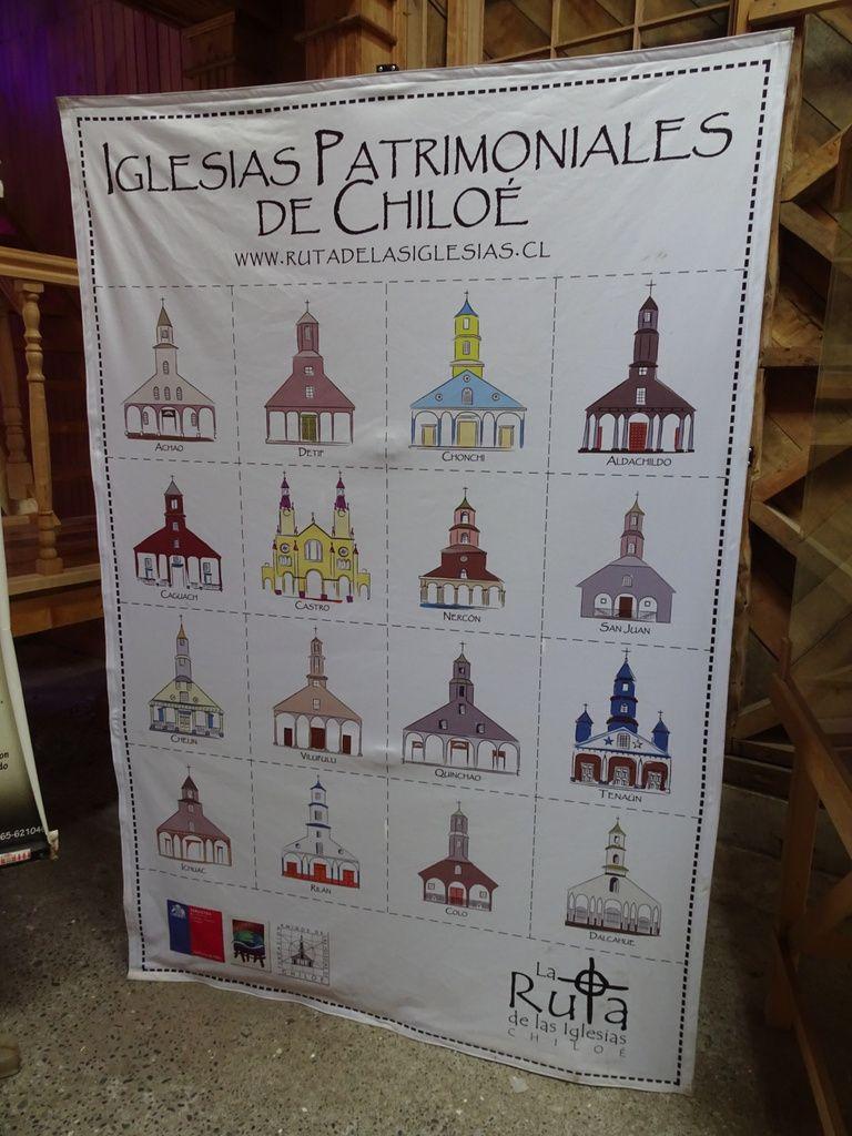 Affiche sur les 16 églises classées