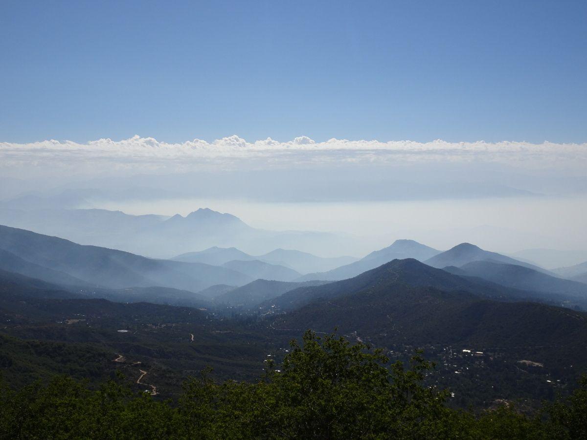 Vues sur la vallée et ses montagnes