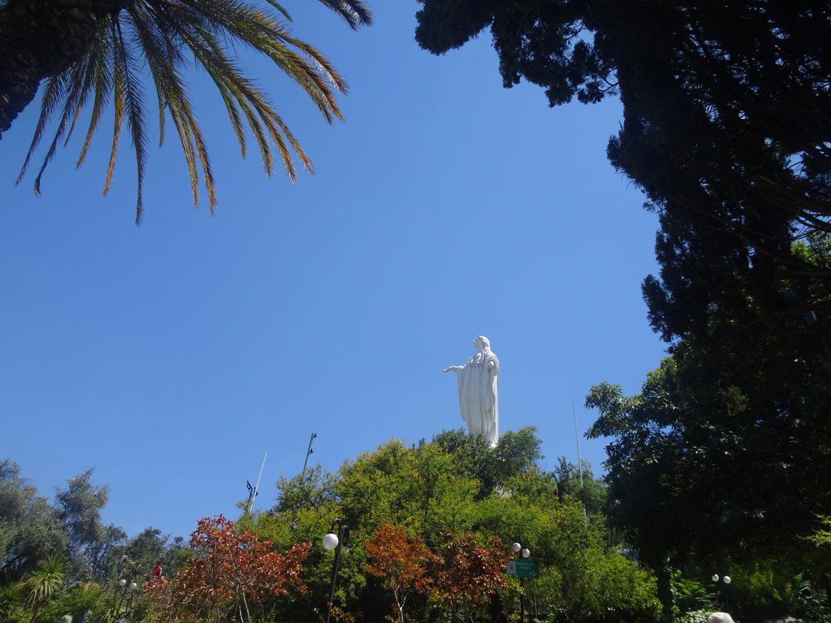 Statue de la Virgen de la Inmaculada Concepción