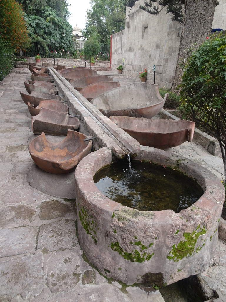 Lavoir en plein air