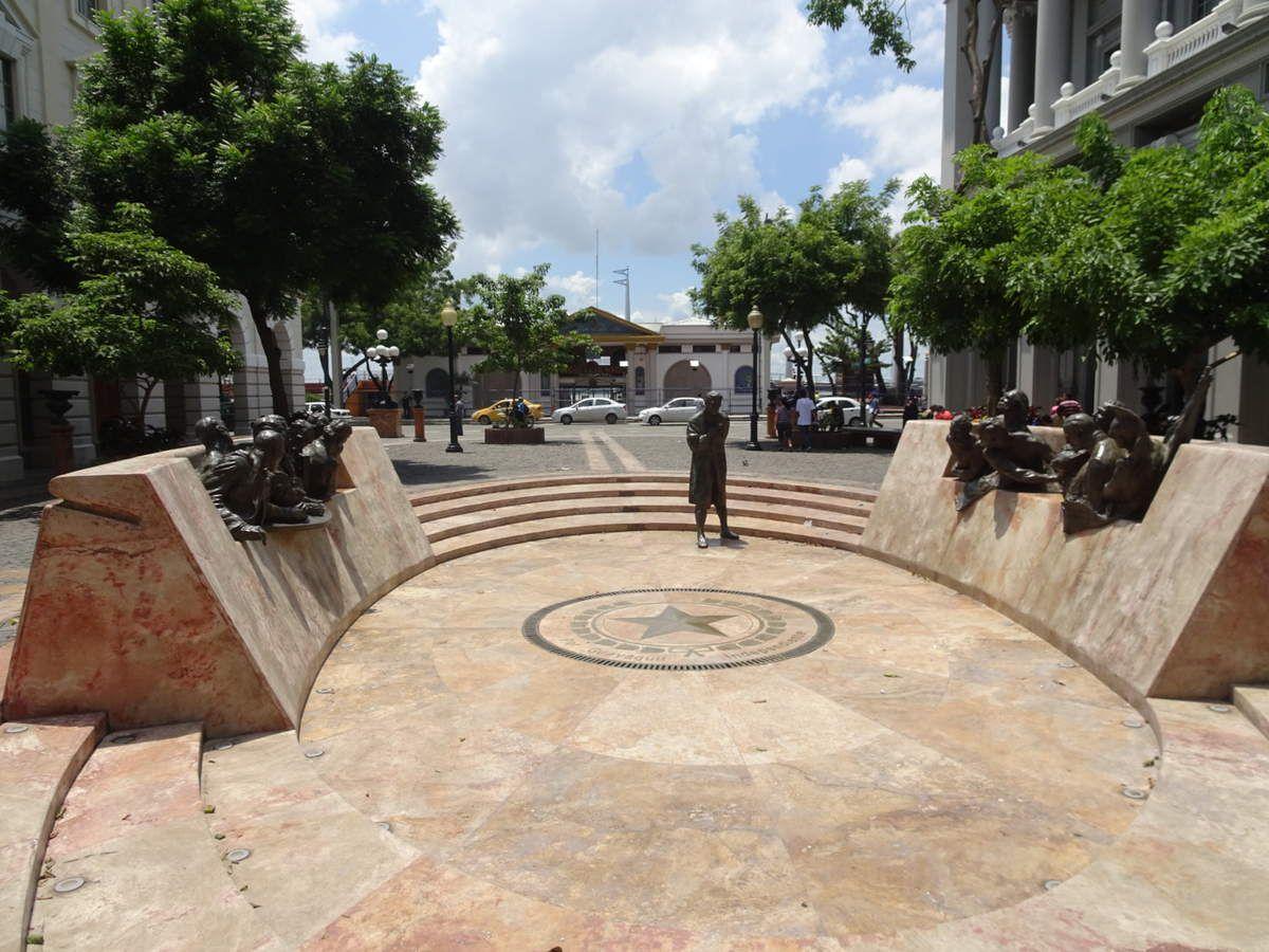Dans les rues de Guayaquil
