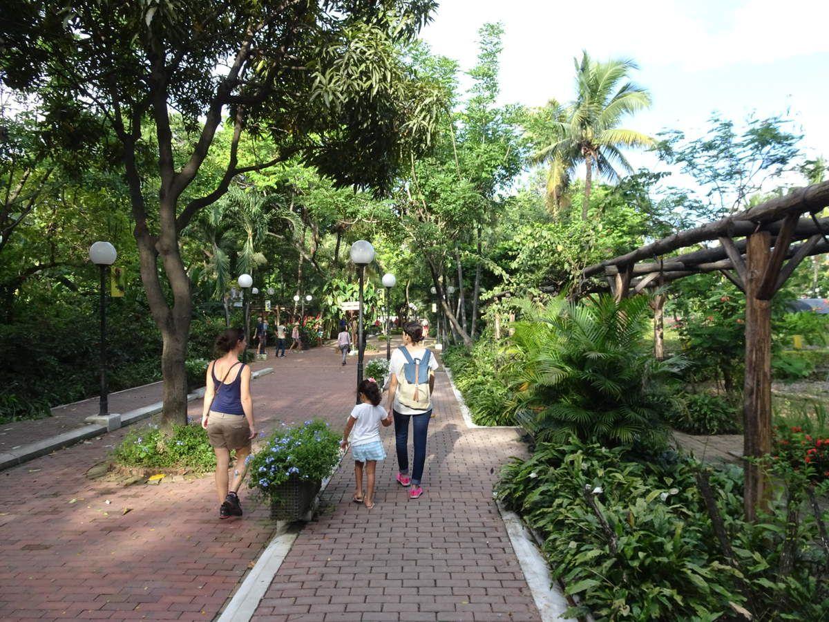 Dans le Parque Histórico et en revenant chez Cristina