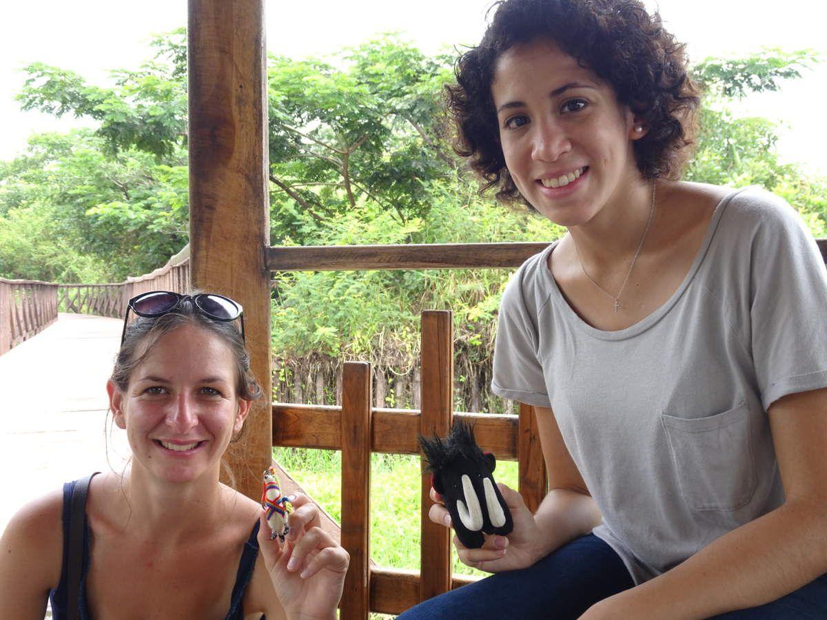 Le bassin aux crocodiles !! C'est l'heure de la photo officielle de Cristina avec Måtmütt :)