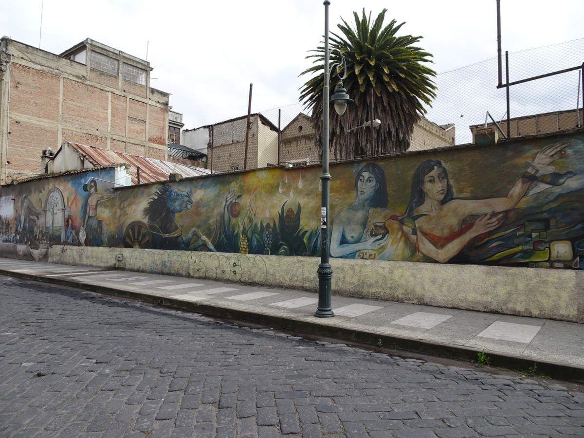 Détails de rue à Riobamba