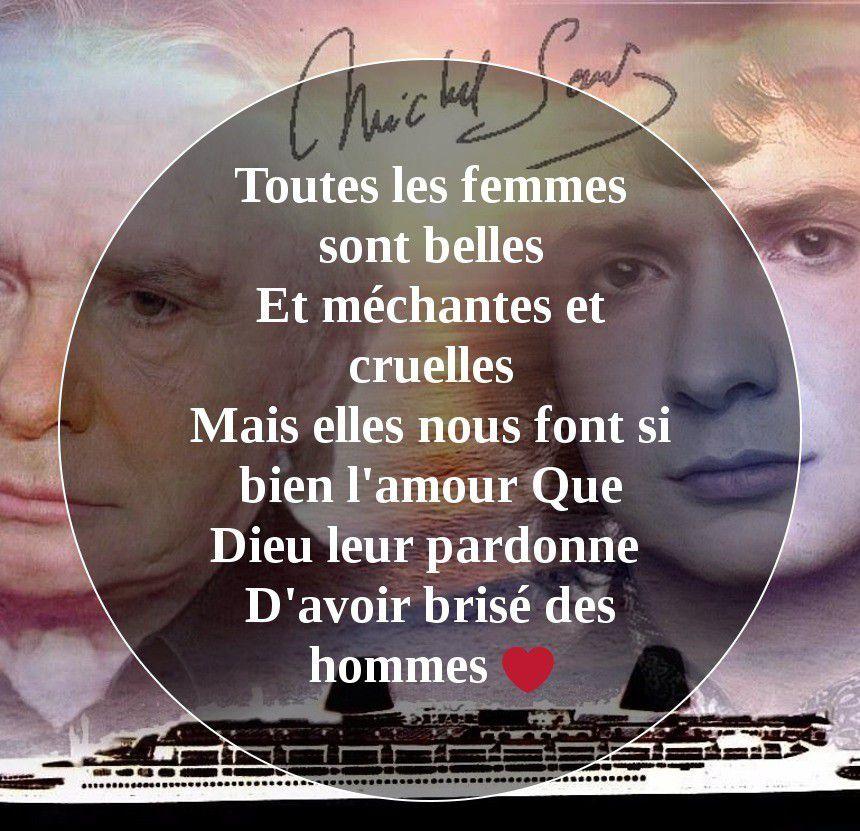 Citation Michel Sardou