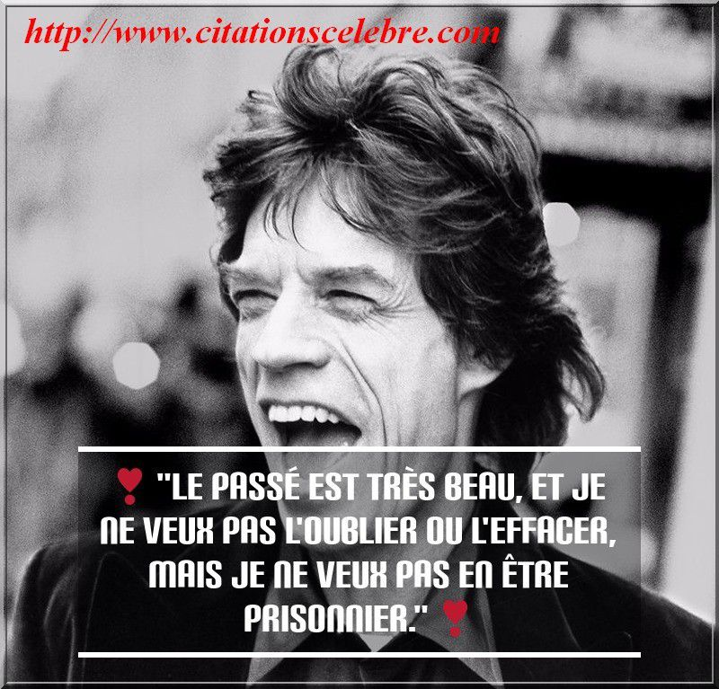 Citation de Mick Jagger