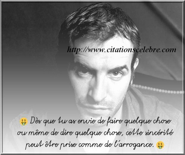 Citation Jean Dujardin