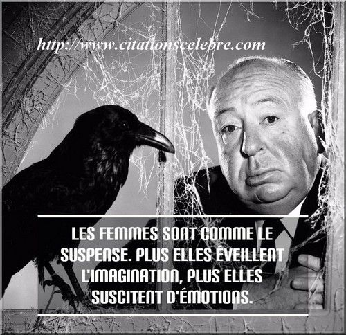 Citation de Alfred Hitchcock