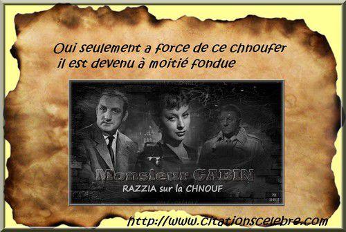Avec Jean Gabin, Magali Noël, Paul Frankeur ...