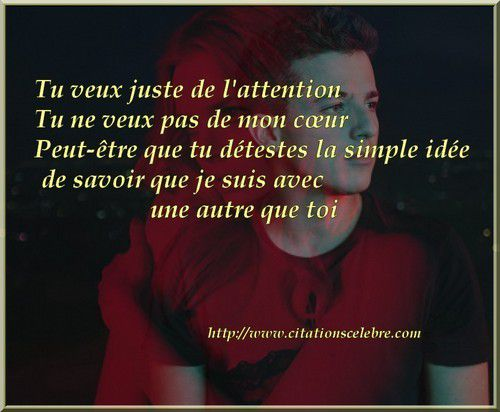 Citation de Charles Puth, dit Charlie Puth  - Attention