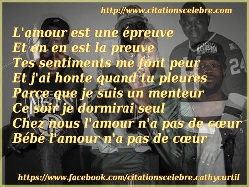 Citation De Mz Un Groupe De Rap Composé De Jok Air Hache P