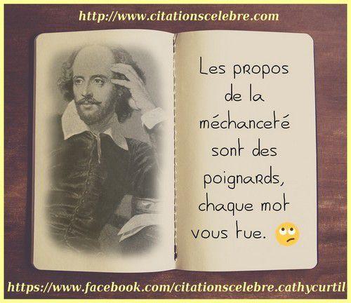 Citation De William Shakespeare Citations Célèbre Phrases